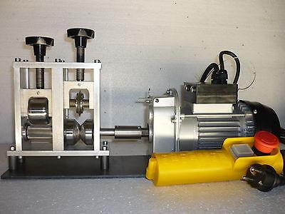 Kabelschälmaschine 2 in 1   mit Messer und Quetsche  mit Motor - Kabel bis 40 mm