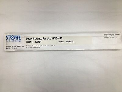 Karl Storz 10046r Cutting Loop For Use With 10445e