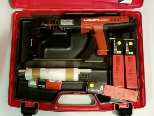 HILTI DX 351 Gas Actuated TOOL X-MX 32 BRAND NEW KIT.