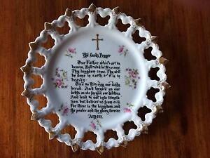 'The Lord's Prayer' Plate Centenary Heights Toowoomba City Preview