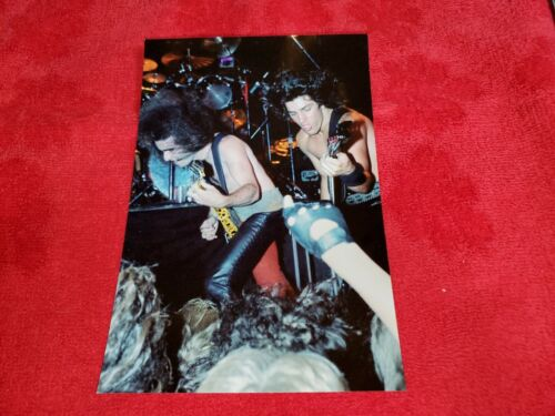 VINTAGE PHOTO OF METAL BAND ANTHRAX TAKEN BY ME EARLY 1980s  LOT #1