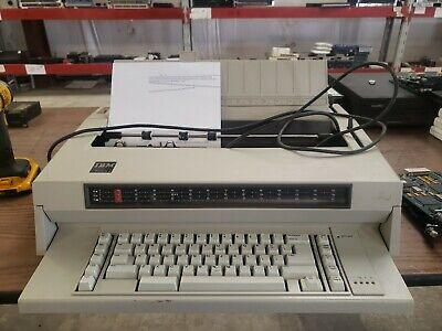 Ibm Wheelwriter Iii 3 Electric Typewriter Tested Working