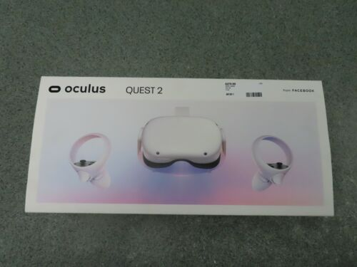 OCULUS QUEST 2 64GB VR VIRTUAL REALITY HEADSET - WHITE - IN BOX