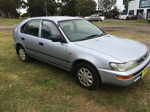 1997 Toyota Corolla Hatchback Adamstown Newcastle Area Preview