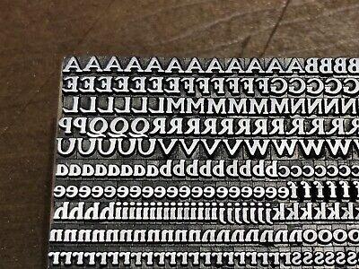 Rare Antique Vtg 10pt Atf Roycroft Letterpress Print Type A-z Letter Set