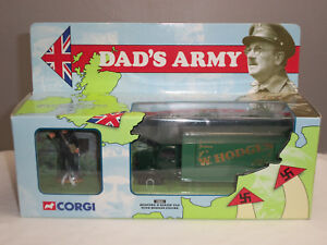 CORGI 18501 DADS ARMY TV SERIES DIECAST BEDFORD O SERIES VAN + MR HODGES FIGURE