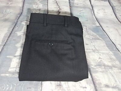 - Brooks Brothers 346 Grey Pleated Wool FLANNEL Cuff Dress Pants Trousers 34X30