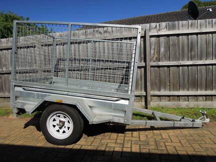 6 by 4 Trailer Galvanised Lightly Used