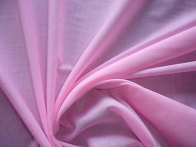 1 Lfm Baumwollstoff 2,86€/m²  rosa  BA4