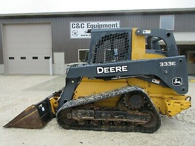 2015 John Deere 333e Tracked Skid Steer Nice Shape Over All High Flow