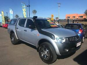 2007 mitsubishi triton glx turbo diesel dualcab 4x4 ute Bundaberg West Bundaberg City Preview