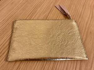 Brand New J Crew Metallic Italian Leather Clutch Mount Lawley Stirling Area Preview