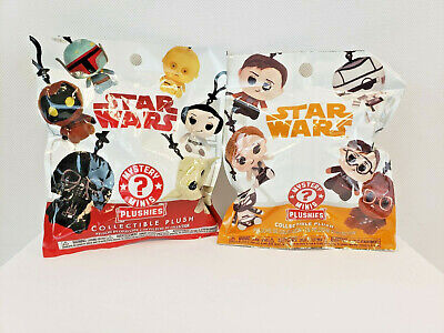 Funko Star Wars Movie 2 Blind Bags Mystery Minis Plush Collectible Keychain New