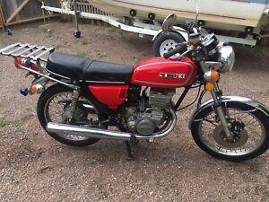 1975 suzuki 185 motorcycle