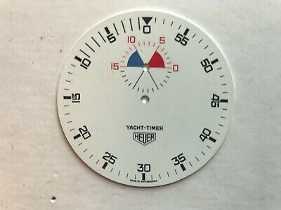 Vintage Heuer Yacht Timer Dial 52mm Dia. for sale  Shipping to Ireland