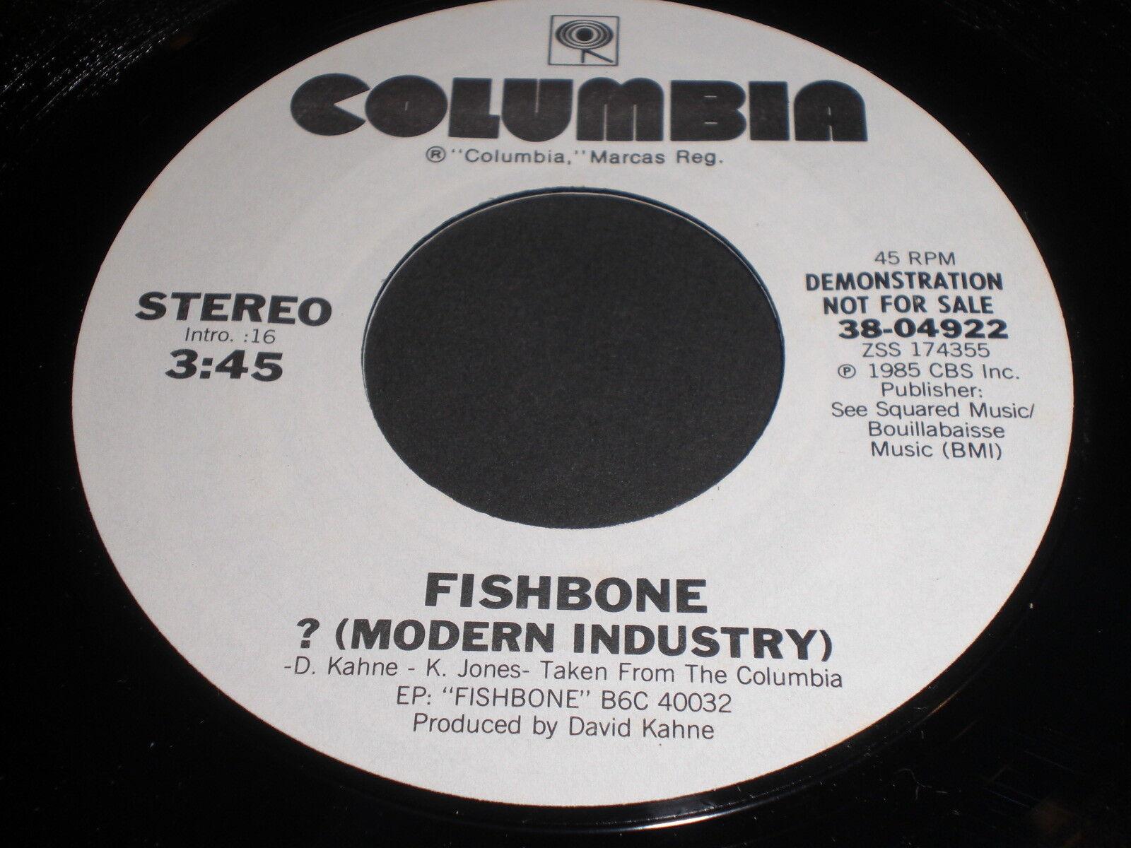 Fishbone: ? (Modern Industry) 45