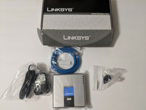 Linksys Cisco SPA2102 VoIP Phone Adapter with Router new in