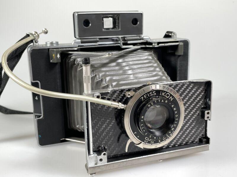 custom polaroid for polaroid/fp-100c pack film with nettar 11cm f4.5 lens