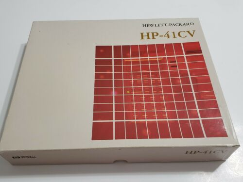 Boxed HP 41CV Hewlett Packard Calculator in Excellent Condition.