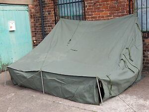 Ex Military CVRT AFV Command Tent in Storage Bag [P113]