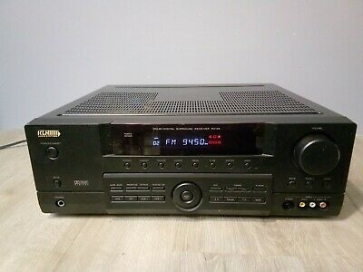 KLH Audio R5100 Dolby Digital 5.1 Surround Audio/Video Receiver TESTED Works