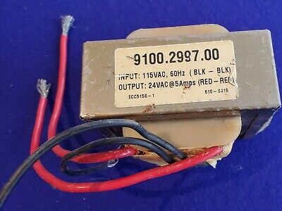 Open Frame Transformer Foot Mount 115vac To 24vac 60hz 5amp New