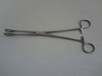 Sponge Forceps 9.5 Straight German Stainless Steel Ce Surgical