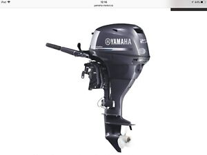 25 Yamaha 2018 Short, Electric start, Outboard