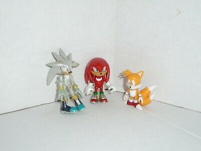 Sonic The Hedgehog Tails (Jazwares Silver Universe Edition, Tails, and Knuckles Figures Sonic The)