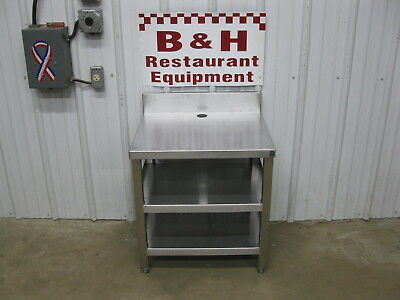 23 38 X 20 X 26 Tall Stainless Steel Heavy Duty Equipment Stand Table