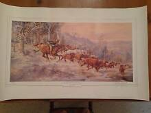 Man from Snowy River limited edition print Currumbin Waters Gold Coast South Preview