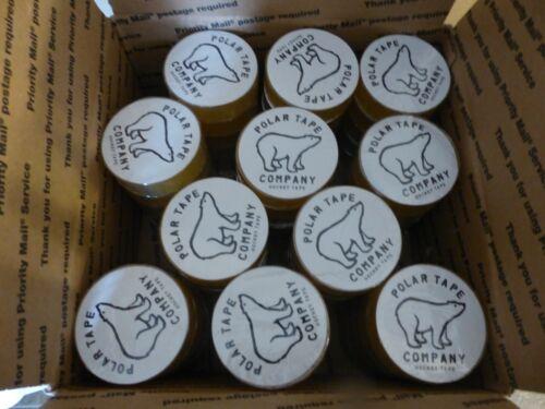 Clear hockey tape 100 rolls - bulk