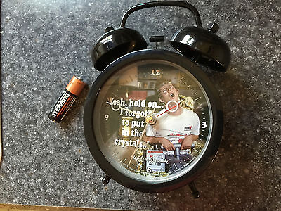 Napoleon Dynamite alarm clock very loud ring battery included