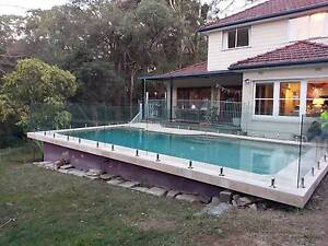 Framless Glass Pool Fencing and Balustrade Bexley Rockdale Area Preview