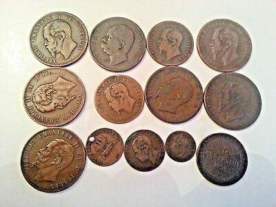 Italian Centesimi coins