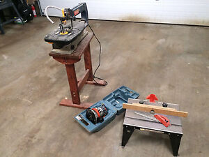 Scroll Saw and Router