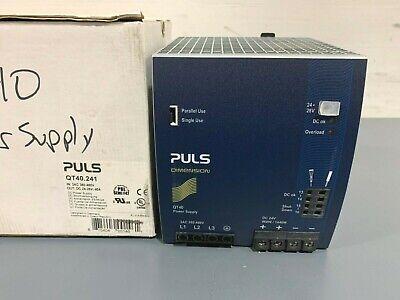New Puls Qt40.241 24v Power Supply