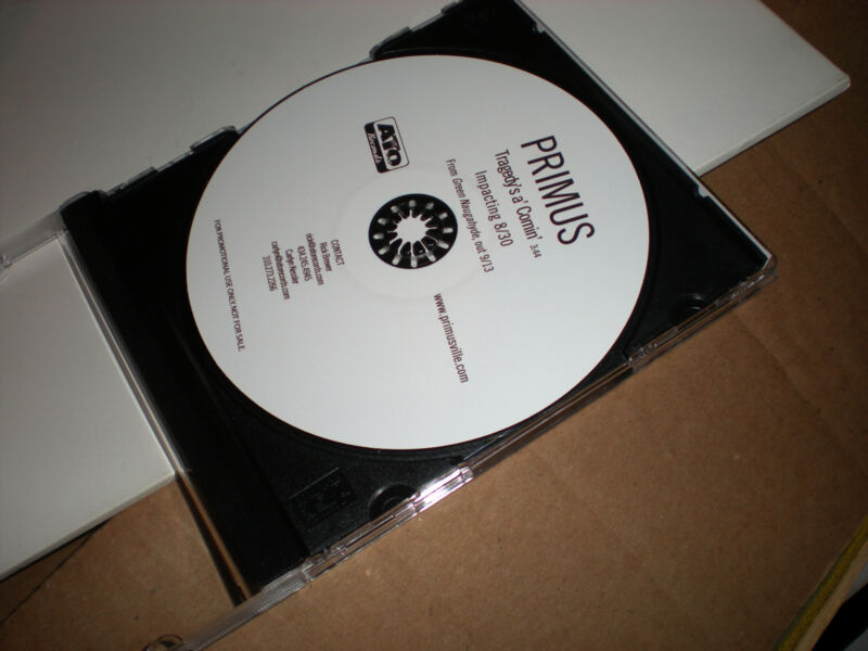 Primus Tragedy's a' Comin' CD SINGLE one track