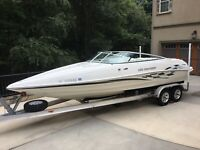 Caravelle Interceptor cuddy 23' GO FAST boat 496 MOTOR 75+ mph Immaculate 3owner