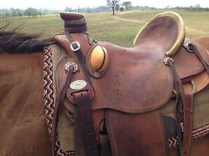 SLICK FORK ROPING SADDLE Colinton Somerset Area Preview