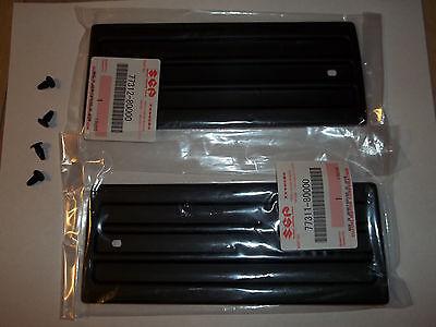 Set Oem 86 95 Suzuki Samurai 82 85 Sj410 R L Exterior Targa Plastic Trim   Clips