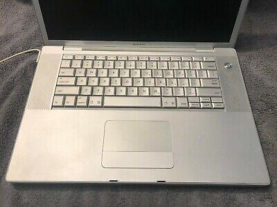 "Apple MacBook Pro 15.4"" 2.2GHz Core 2 Duo 250GB SSDHD 4GB RAM Laptop -A1226"