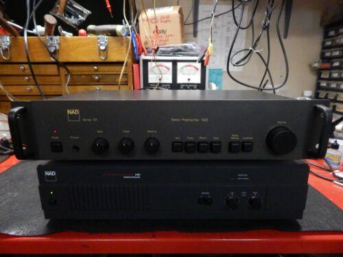 Nad 1020 Series 20 Pre-Amplifier & Nad 2100 Power Envelope/Amplifier