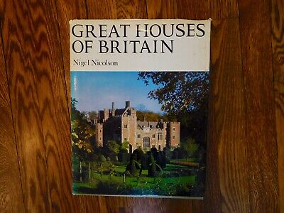 Great House of Britain, by Nigel Nicholson, 1965 Vintage  Hardback.