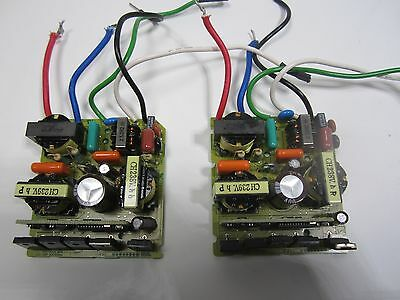 Free Ship Used Working Pair Of Pm3912ck-6eu-071 Bhe-5300-39a Ballast