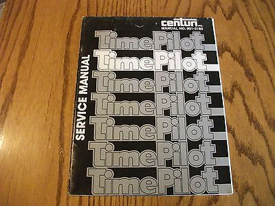 Centuri TIME PILOT Arcade Game Owners Service Manual Coin op by Tehkan