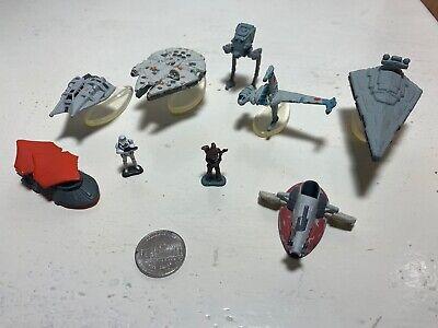 STAR WARS TRILOGY SET OF 9 MICRO MACHINES