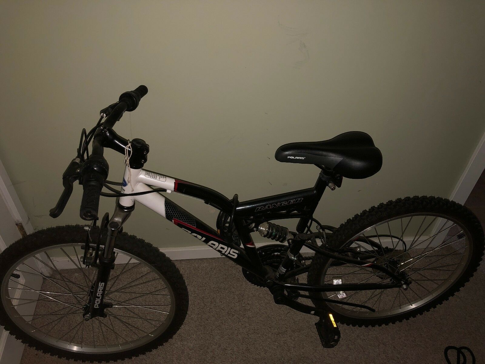 Polaris Ranger Full Suspension Mountain Bike, 24 inch Wheels, 17 inch Frame,