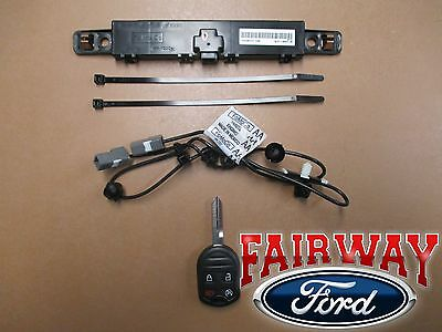 11 thru 16 F250 F350 F450 F550 OEM Genuine Ford Remote Starter Kit - Single Key