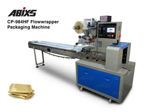 ABIXS CP984HF Automatic Horizontal Form Fill Seal Flow Wrapper Machine